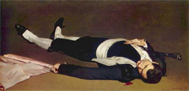 Image Photo Dead Torero Manet | Photos and Images | Vintage