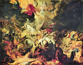Image Photo Defeat Sanheribs Rubens | Photos and Images | Vintage