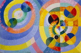 Image Photo Delaunay - Circular Forms Modernism | Photos and Images | Vintage