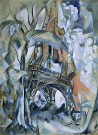 Image Photo Delaunay - Eiffel tower Modernism | Photos and Images | Vintage