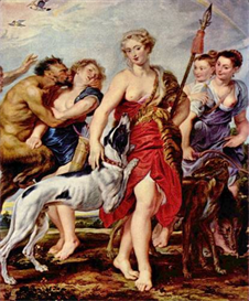 Image Photo Diana with nymphs Rubens | Photos and Images | Vintage