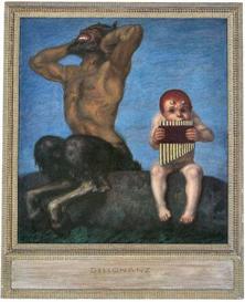 Image Photo Dissonance Franz von Stuck Symbolism | Photos and Images | Vintage