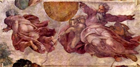 Image Photo Divorce of light and darkness Michelangelo | Photos and Images | Vintage