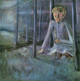 image photo dreaming boy walter gramatte expressionism