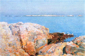 Image Photo Duck island Hassam Impressionism American | Photos and Images | Vintage