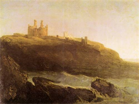 Image Photo Dunstanborough Castle Joseph Mallord Turner | Photos and Images | Vintage