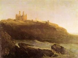 image photo dunstanborough castle joseph mallord turner
