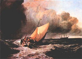 Image Photo Dutch boats in a squall Joseph Mallord Turner | Photos and Images | Vintage