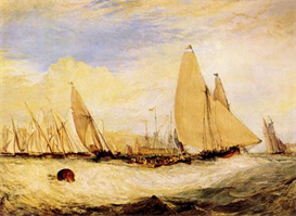 Image Photo East Cowes Castle, Regatta Joseph Mallord Turner | Photos and Images | Vintage