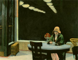 Image Photo Edward Hopper - Automat Cafe Modernism | Photos and Images | Vintage