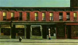 Image Photo Edward Hopper - Early Sunday morning Modernism | Photos and Images | Vintage