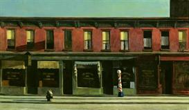 image photo edward hopper - early sunday morning modernism
