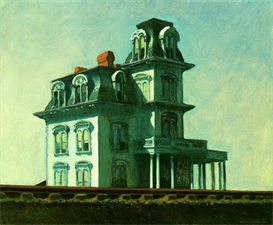 Image Photo Edward Hopper - Hotel the railroad Modernism | Photos and Images | Vintage
