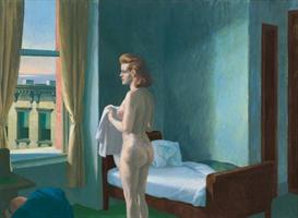 image photo edward hopper - morning modernism