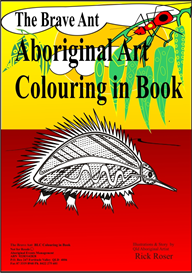00 the brave ant colour in book