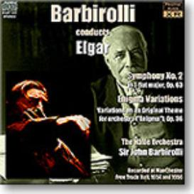 BARBIROLLI conducts Elgar Symphony 2, Enigma Variations, stereo 16-bit FLAC | Music | Classical