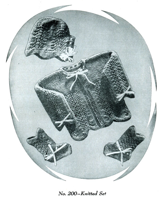 First Additional product image for - Baby Book   Volume 92   Doreen Knitting Books DIGITALLY RESTORED PDF