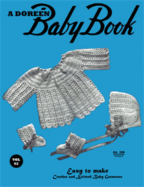 Baby Book | Volume 92 | Doreen Knitting Books DIGITALLY RESTORED PDF | Crafting | Crochet | Baby and Child