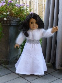 Doll Knitting Pattern - PK001 - Princess Kate - After Wedding Dress | Crafting | Sewing | Dolls and Toys