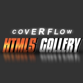 HTML5 Coverflow Gallery Template | Software | Design Templates