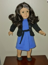 doll knitting pattern - pk003 - princess kate - going away outfit