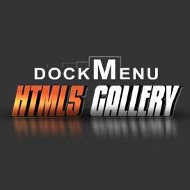 HTML5 Dock Menu Style Gallery Template | Software | Design Templates