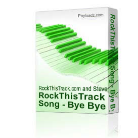 RockThisTrack Song - Bye Bye Baby | Music | Backing tracks