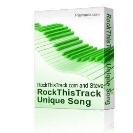 RockThisTrack Unique Song Pack | Music | Backing tracks
