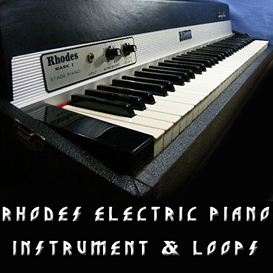 Rhodes vintage electric piano instrument loop reason kontakt logic exs24 SAMPLE | Music | Soundbanks