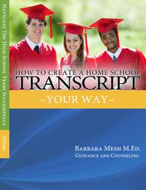 how to create  home school transcript  your  way - ebook