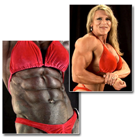 24055 - 2011 NPC Nationals Womens Backstage Posing Part 2 (HD) | Movies and Videos | Fitness