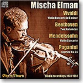 ELMAN plays Vivaldi, Beethoven, Mendelssohn, Paganini, mono MP3 | Music | Classical