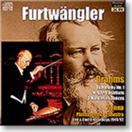FURTWANGLER conducts BRAHMS Symphony 1, Haydn Variations, Hungarian Dances, Ambient Stereo 16-bit FLAC | Music | Classical