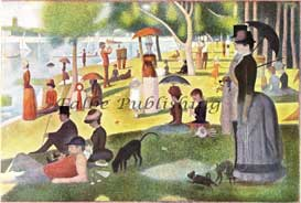 Digital jpeg image Sunday Afternoon on the Island of La Grande Jatte by Georges Seurat | Photos and Images | Fine Art