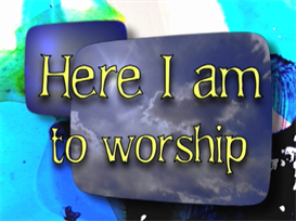 Here I Am to Worship 5443 Big Band | Music | Gospel and Spiritual