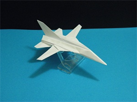 origami panavia tornado tutorial video