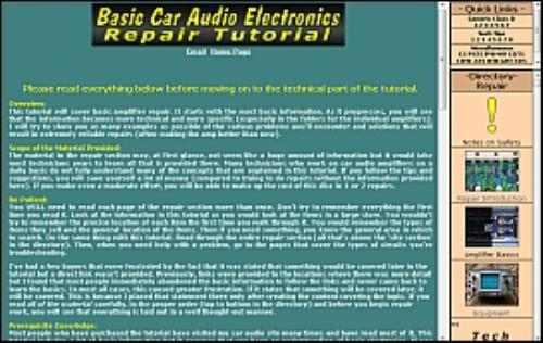 First Additional product image for - Car Audio Amplifier Repair Tutorial