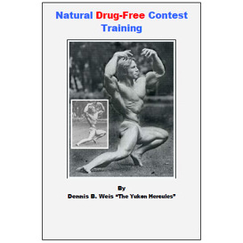 natural drug-free contest training
