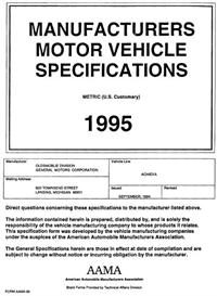1995 Oldsmobile Achieva MVMA | eBooks | Automotive