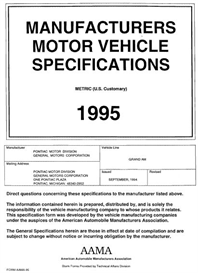 1995 Pontiac Grand Am MVMA | eBooks | Automotive