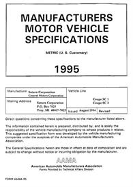 1995 Saturn SC MVMA   eBooks   Automotive