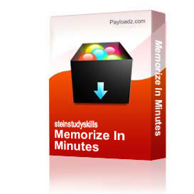 Memorize In Minutes