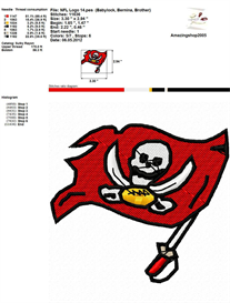 Nfl Logo Embroidery Design   Crafting   Sewing   Other