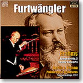 FURTWANGLER conducts BRAHMS Symphony 2, Double Concerto, Ambient Stereo 24-bit FLAC | Music | Classical