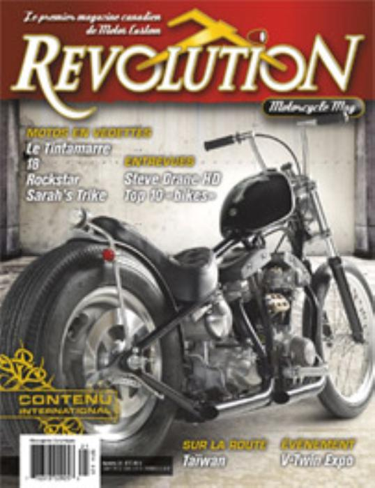 First Additional product image for - Revolution Motorcycle Magazine Vol.21 english