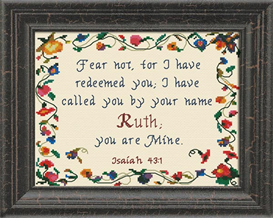 Name Blessings - Ruth | Crafting | Cross-Stitch | Religious