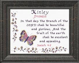 name blessings - kinley