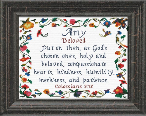 First Additional product image for - Name Blessings - Amy