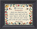 Name Blessings - Brianna   Crafting   Cross-Stitch   Religious