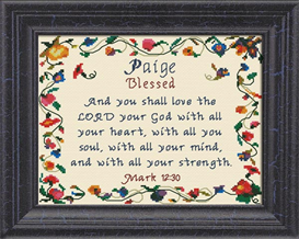 name blessings - paige